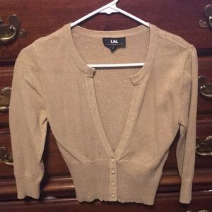 Tops - Gold Sweater